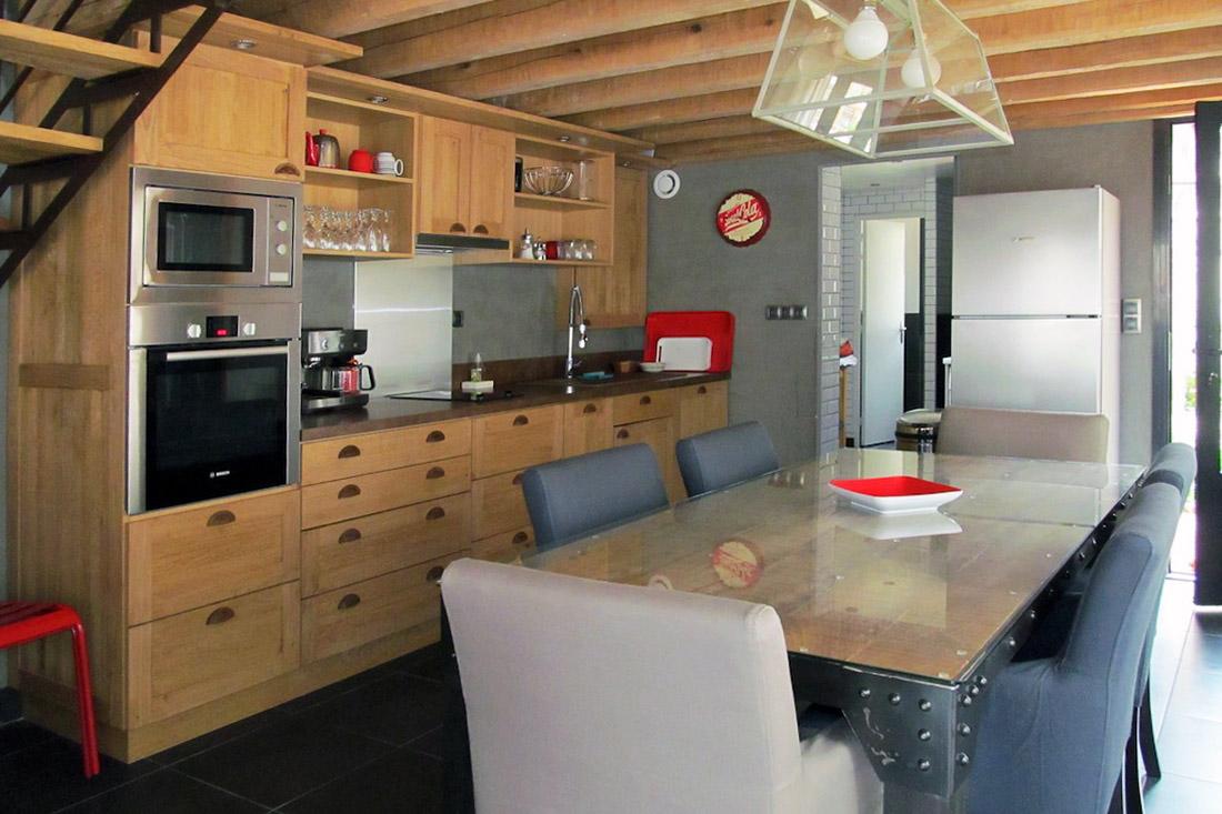 Kitchen L'Atelier - Domaine du Clos Fleuri