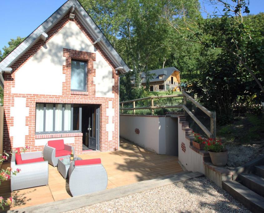Terrasse L'Atelier - Domaine du Clos Fleuri