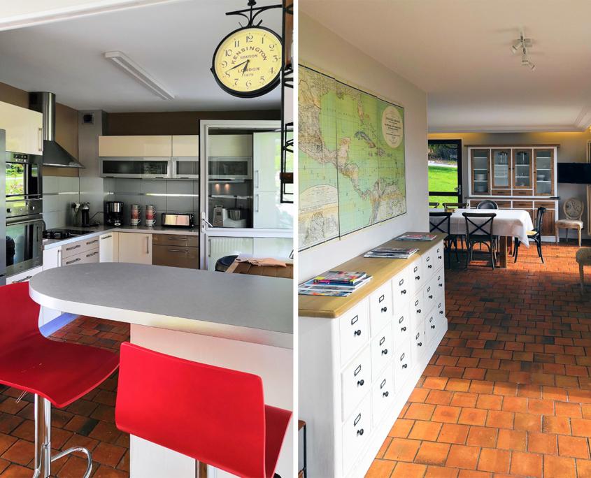 Kitchen Les Hauts du Clos - Domaine du Clos Fleuri