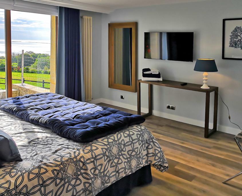 Room Océane des Hauts du Clos - Domaine du Clos Fleuri