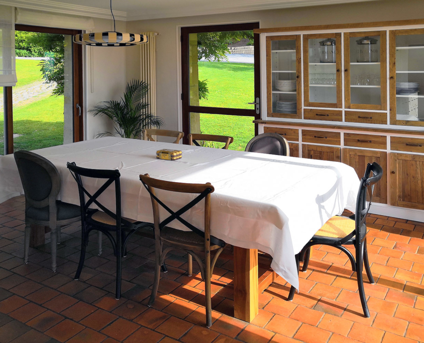 Dining Room Les Hauts du Clos - Domaine du Clos Fleuri