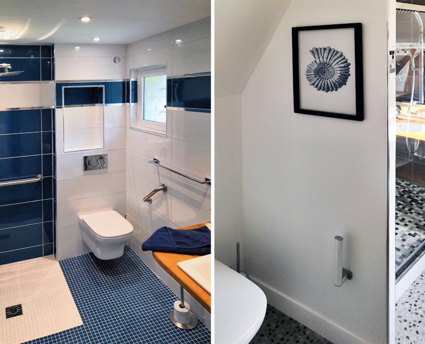 Salles de bain des Hauts du Clos - Domaine du Clos Fleuri