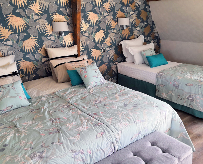 Room Tropicale des Hauts du Clos - Domaine du Clos Fleuri