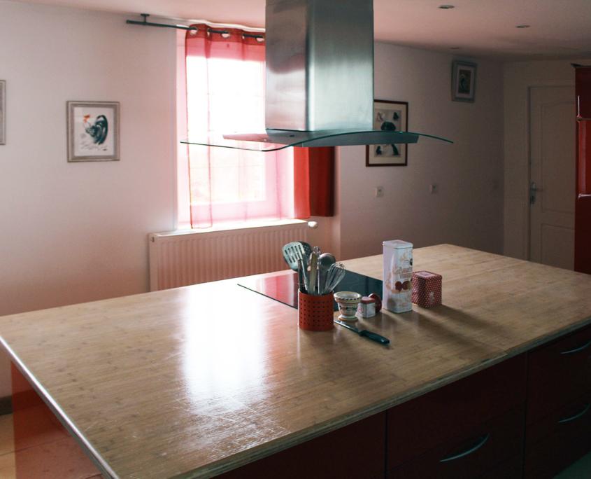 Kitchen Le Petit Clos - Domaine du Clos Fleuri