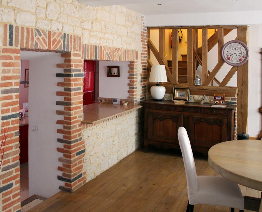 Living room Le Petit Clos - Domaine du Clos Fleuri