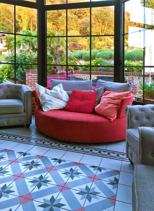 Living Room - Domaine du Clos Fleuri